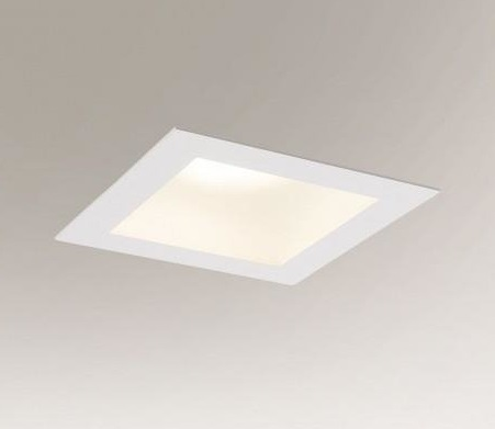 Plafon sufitowy Shilo Machida 8018/GX53, wpust podtynkowy lampy