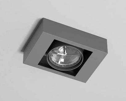 Lampa sufitowa Shilo 1152/GU10 Koga, oprawa natynkowa