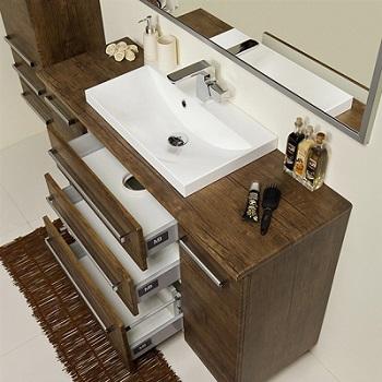 szafka łazienkowa z umywalką Gante 120/39/C3 Fokus