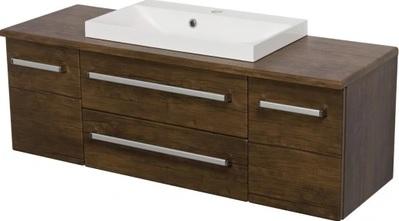 szafka łazienkowa z umywalką Gante 120/39C FOKUS AD, wisząca