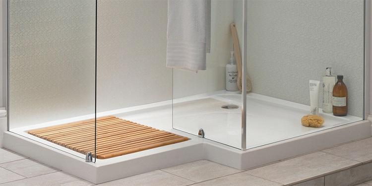 brodzik do kabiny prysznicowej z wysokim progiem