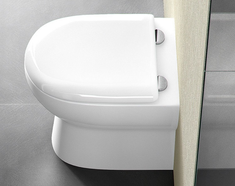 kompakt toaleta WC w łazience