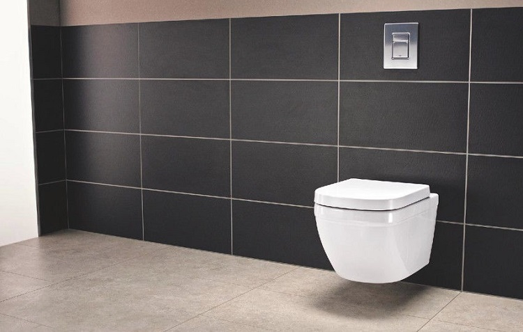 toaleta WC ze stelażem podtynkowym
