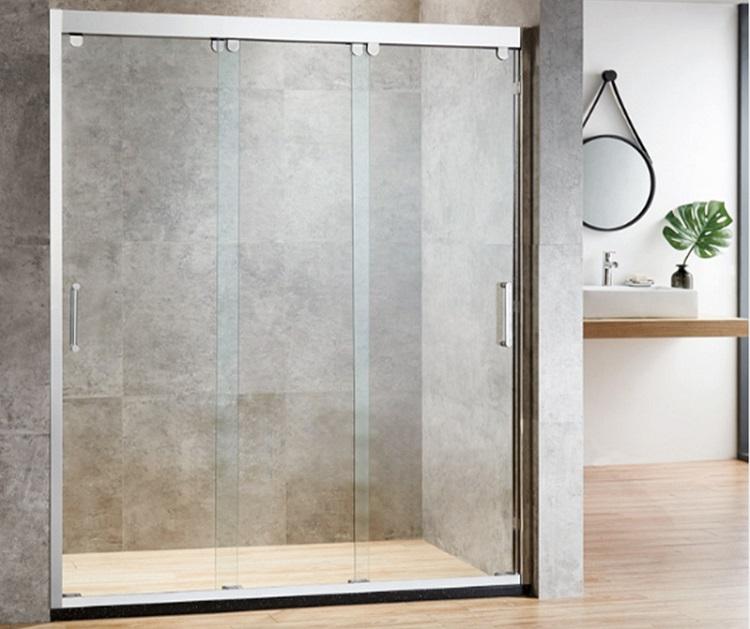 szklane drzwi przesuwne prysznicowe