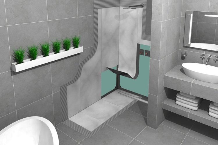 hydroizolacja łazienki za pomocą folii w płynie