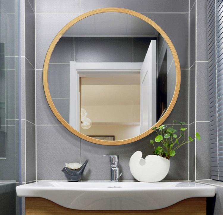 Okrągłe lustro do łazienki