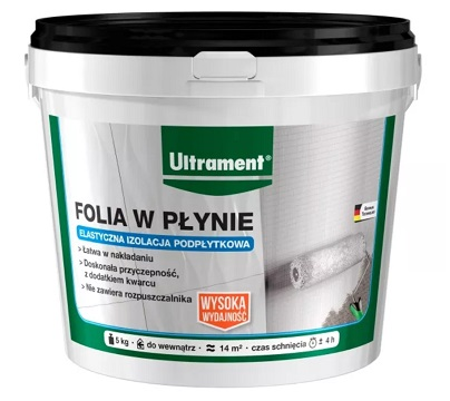 Płynna folia podpłytkowa Ultrament 5 kg
