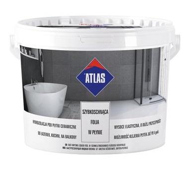 Płynna folia izolacyjna Atlas 15 kg, produkt szybkoschnący