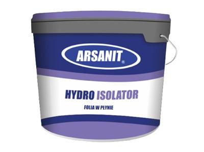 Hydroizolacja w płynie Arsanit Hydro Isolator 5 kg, folia ochronna
