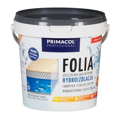 Folia izolacyjna Primacol Professional 1,5 kg, postać płynna