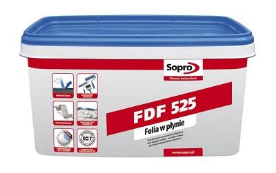 folia ochronna Sopro FDF 525 3 kg, masa płynna