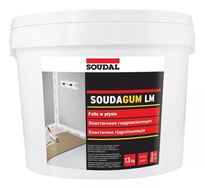 folia płynna izolacyjna Soudal Soudagum LM 13 kg