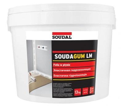 Folia wodoszczelna Soudal Soudagum LM 1,3 kg o płynnej masie