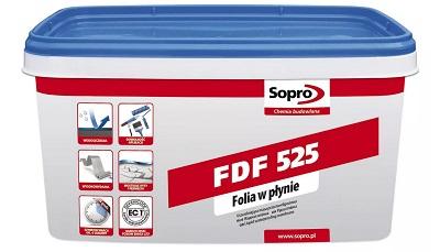 Folia płynna Sopro FDF525 5 kg, uszczelniająca masa izolująca