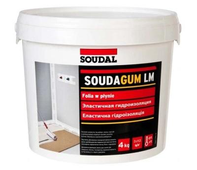 Elastyczna płynna folia Soudal SoudaGum LM 4 kg