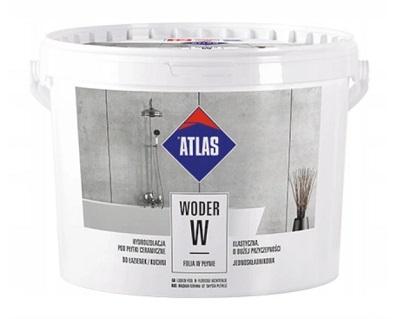 Masa izolacyjna Atlas Woder W 10 kg, folia o płynnej konsystencji